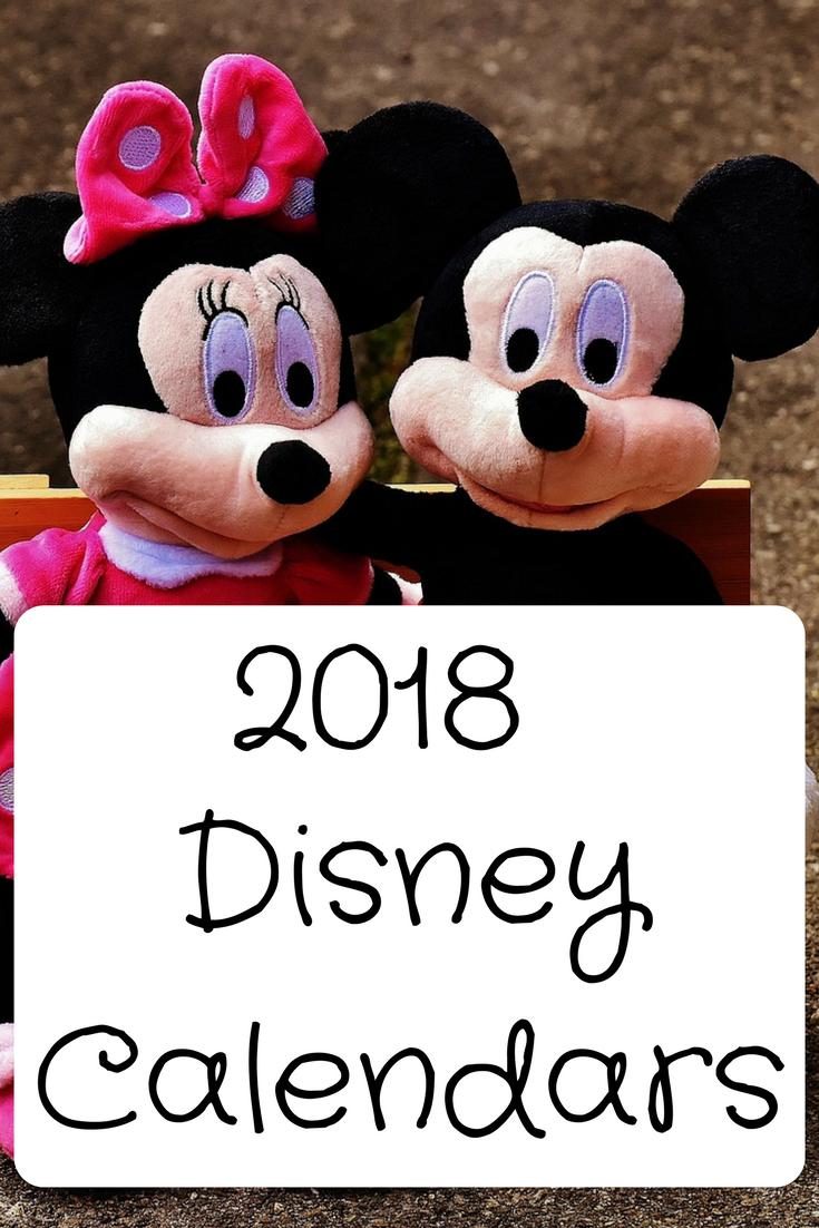 Disney calendar kids