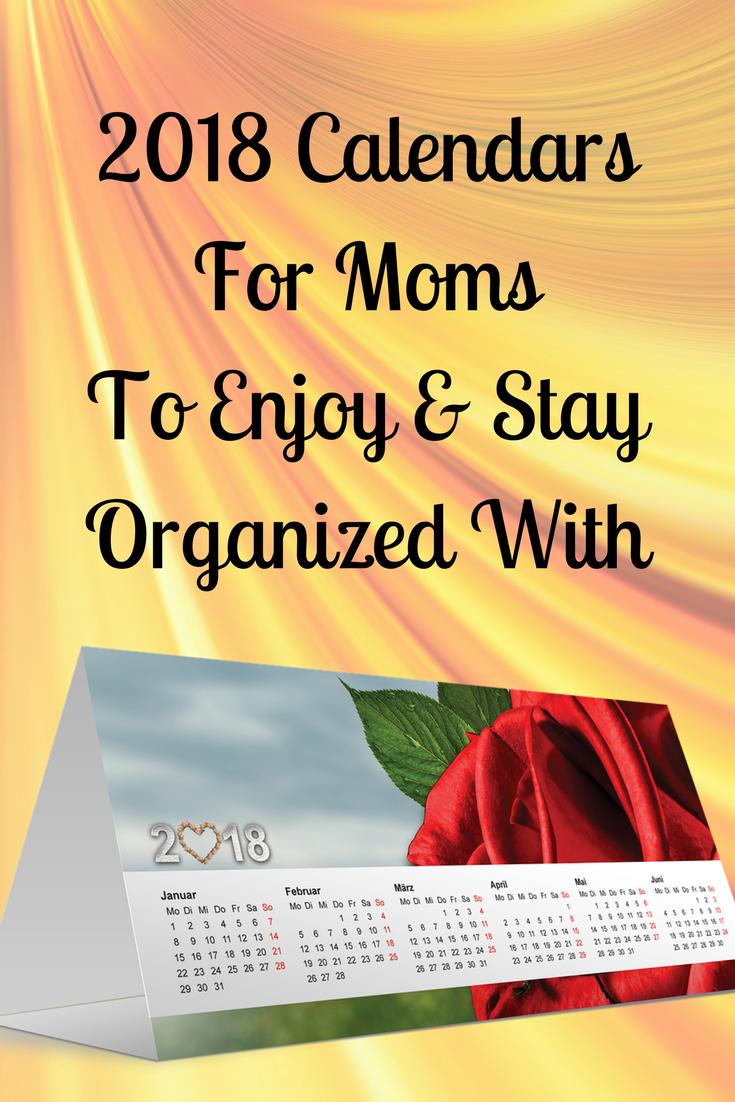 2018 mom calendars