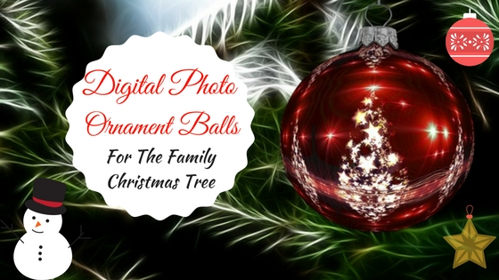 Digital Photo Ornament Ball