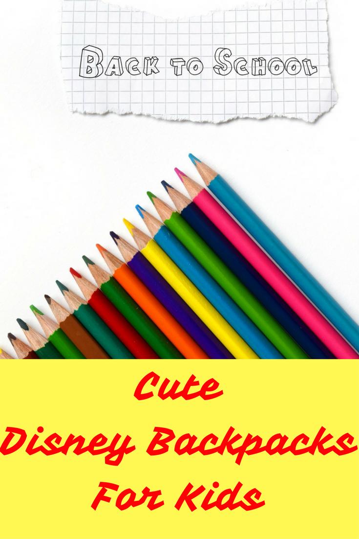 Disney Backpacks Kids