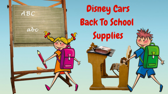 disney cars school supplies