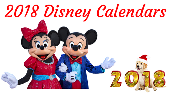 It's Time To Grab Disney Calendars 2018 For Your Kids