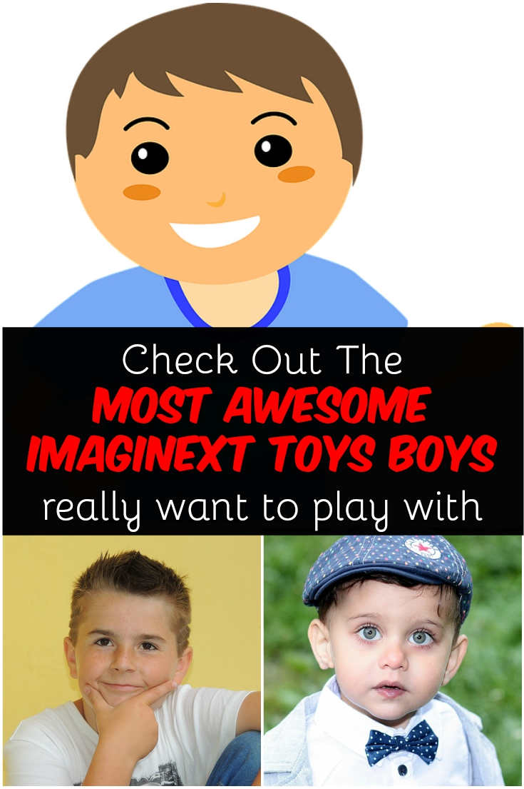 Imaginext toys for boys