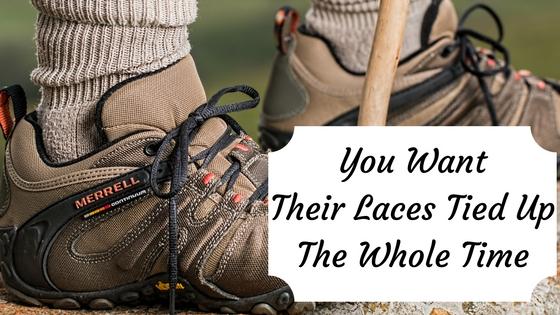 Knot locker shoe laces