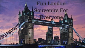 Get Fun London Souvenirs Right Here