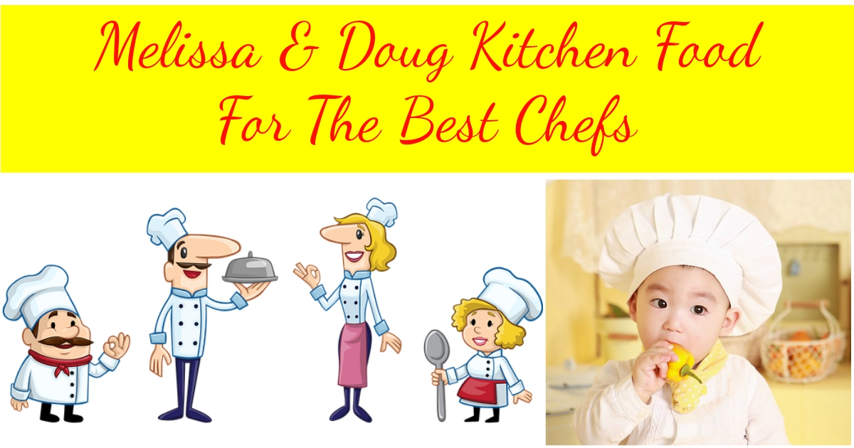 Melissa Doug Kitchen food
