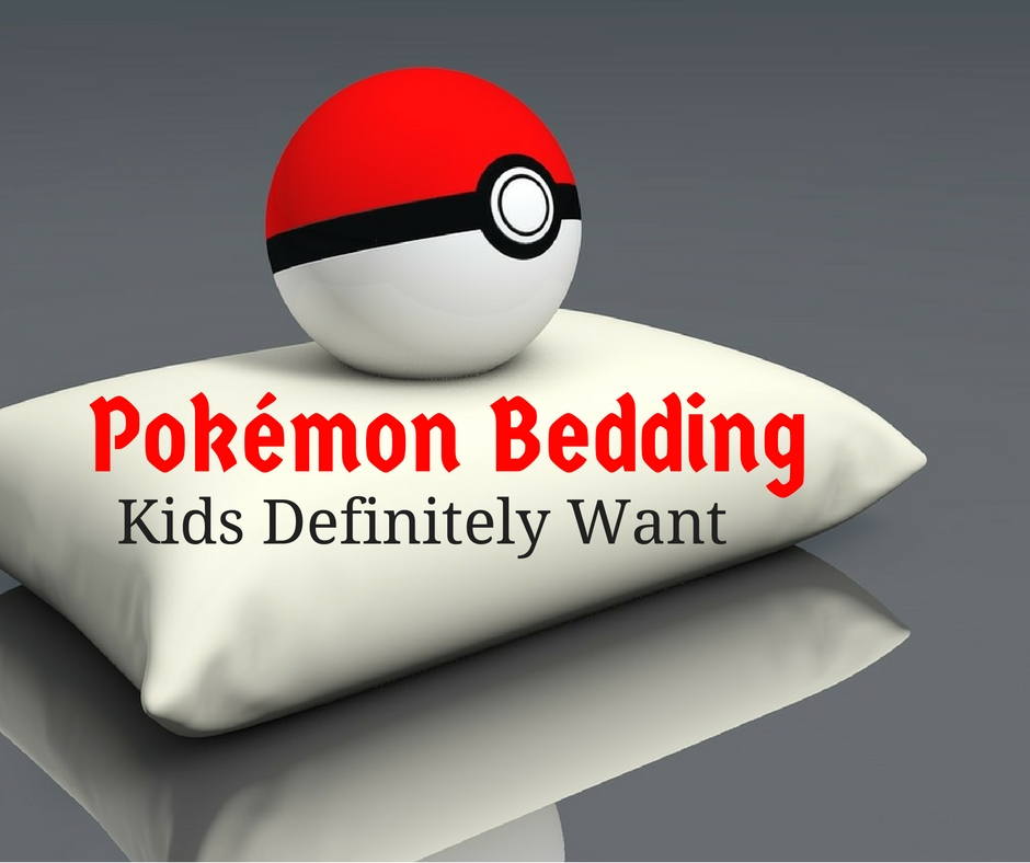 pokemon bedding kids