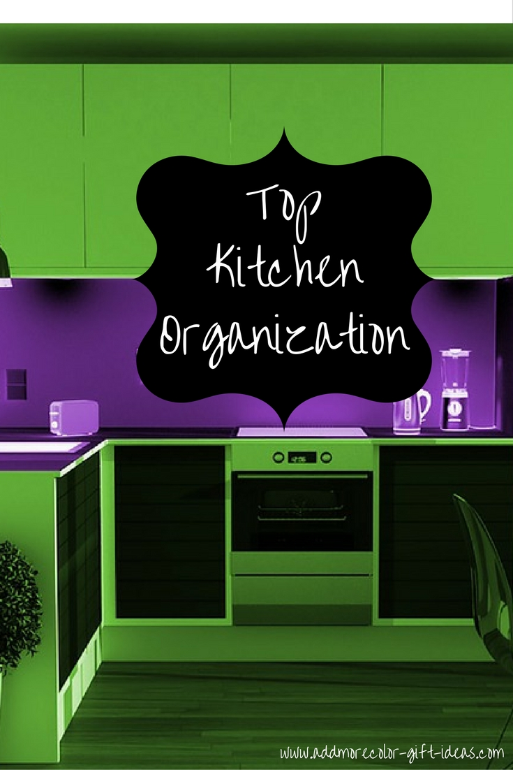 top kitchen organization tips