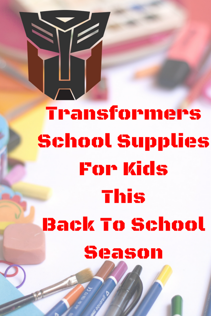 Transformers School Supplies