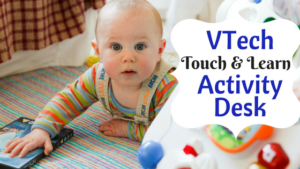 Exciting VTech Touch and Learn Activity Desk For Toddlers!