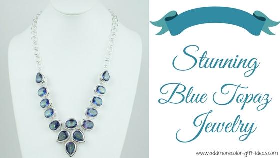 blue topaz jewelry sets