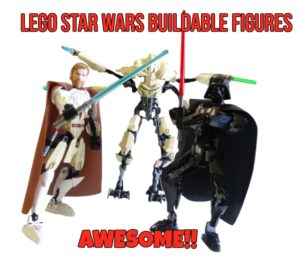 Buildable Lego Star Wars Action Figures Are Absolutely Awesome!!