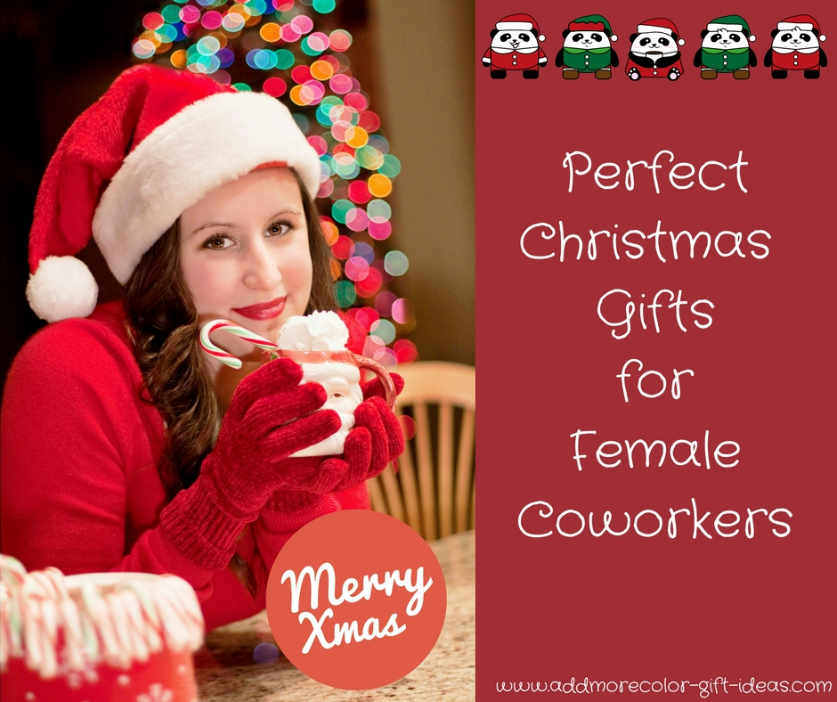 Christmas Gift Ideas Female Coworkers