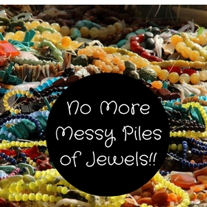 creative ways organize jewelry