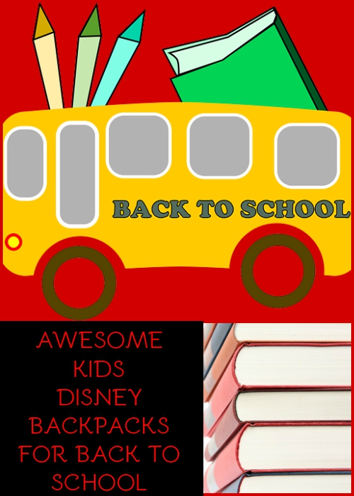 disney backpacks for kids