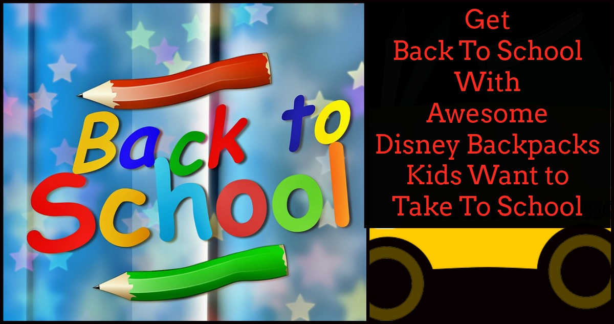 disney backpacks kids