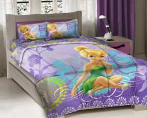 Tinkerbell bedding for girls for Disney fairies bedroom ideas