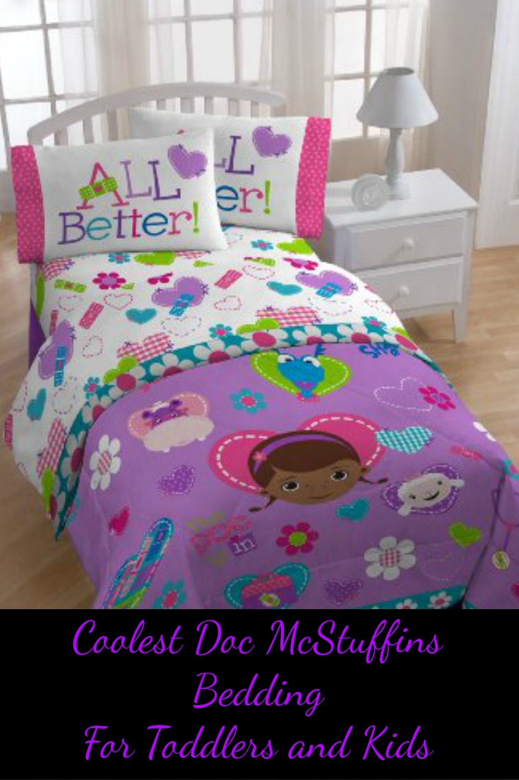 Doc Mcstuffins Bedding Set