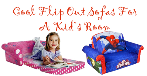 flip out sofas for kids