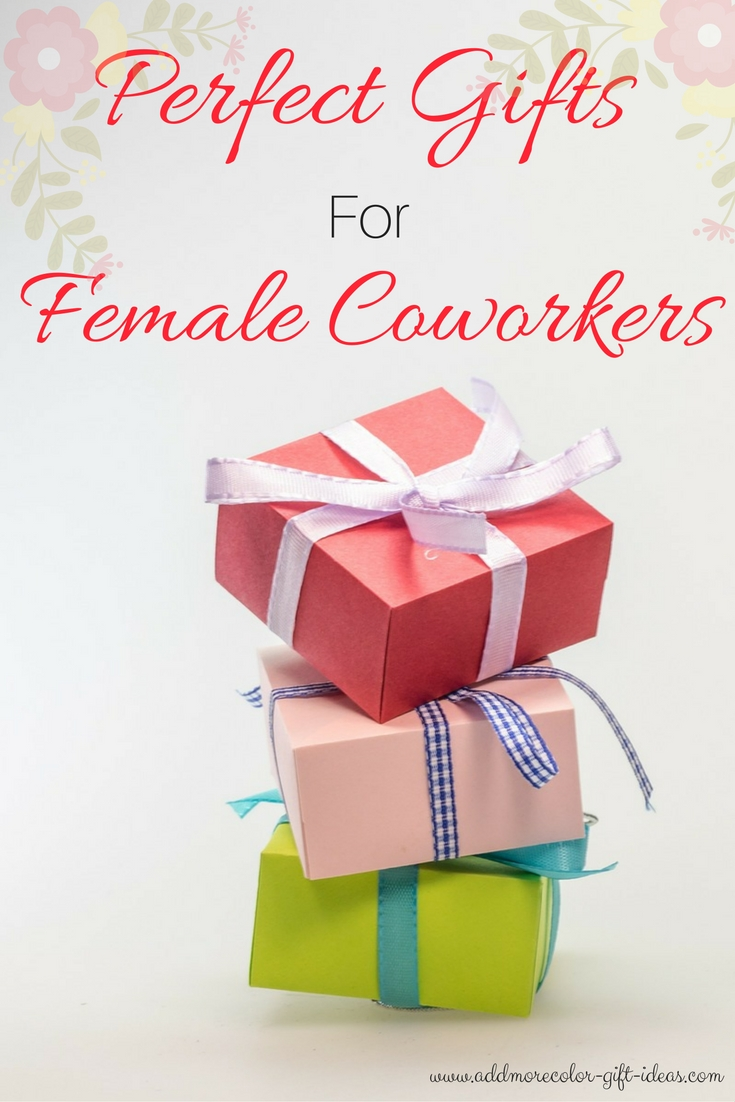 gifts female coworker