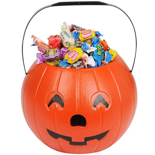 Halloween Trick or Treat Bags and Pails
