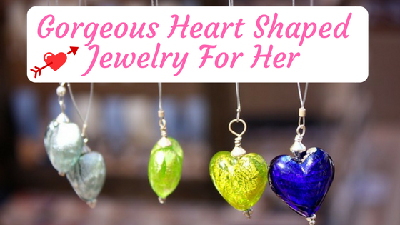 heart jewelry women