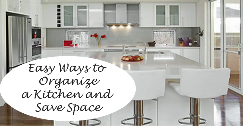 Space Saving Ideas for the Kitchen