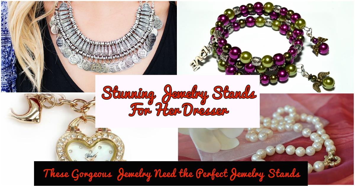 jewelry organizer stand