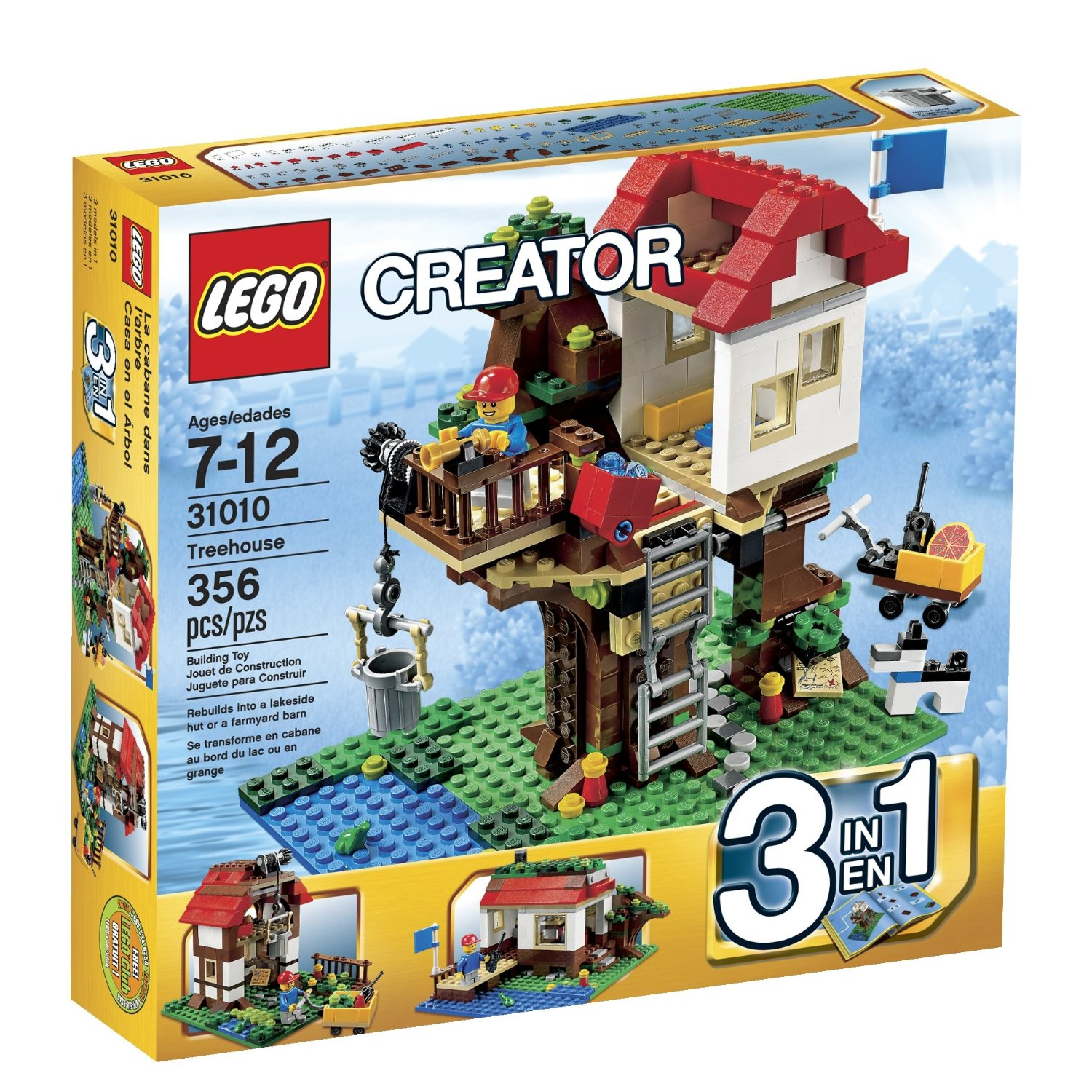 Toy Building Set For Boys : Lego creator toy sets for kids