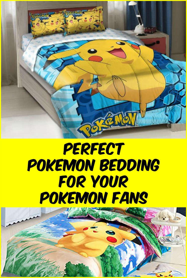 pokemon bedding for kids