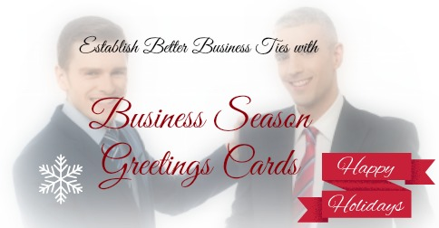 Business season greetings cards for a professional start to a new year m4hsunfo