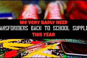 Transformers School Supplies For Another Exciting Year