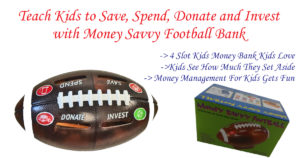 Great Unique Banks Kids Love – Money Savvy Football Bank