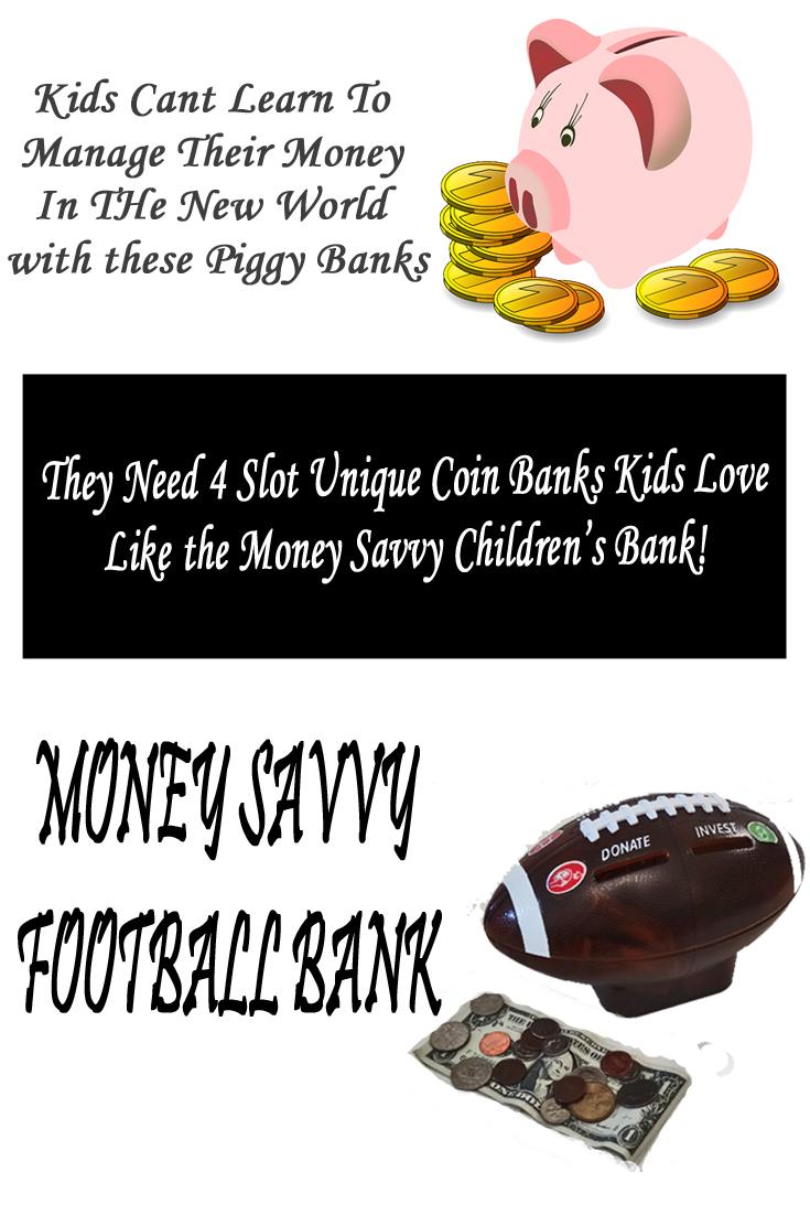 unique coin banks kids